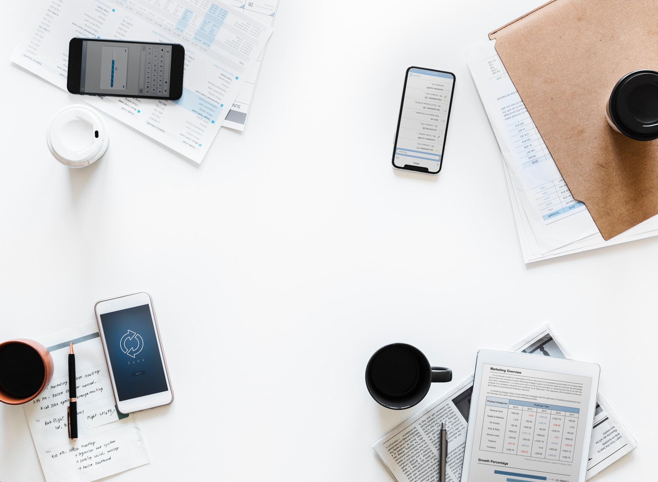 Smartphones im Meeting