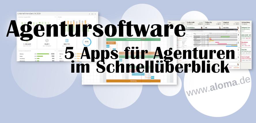 Agentursoftware Tools Schnell-Überblick